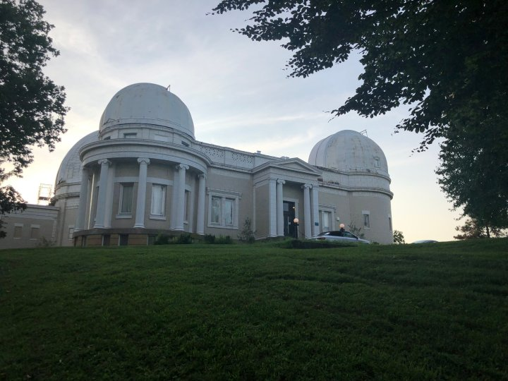 The Allegheny Observatory's beautiful setting is adjacent Riverview Park