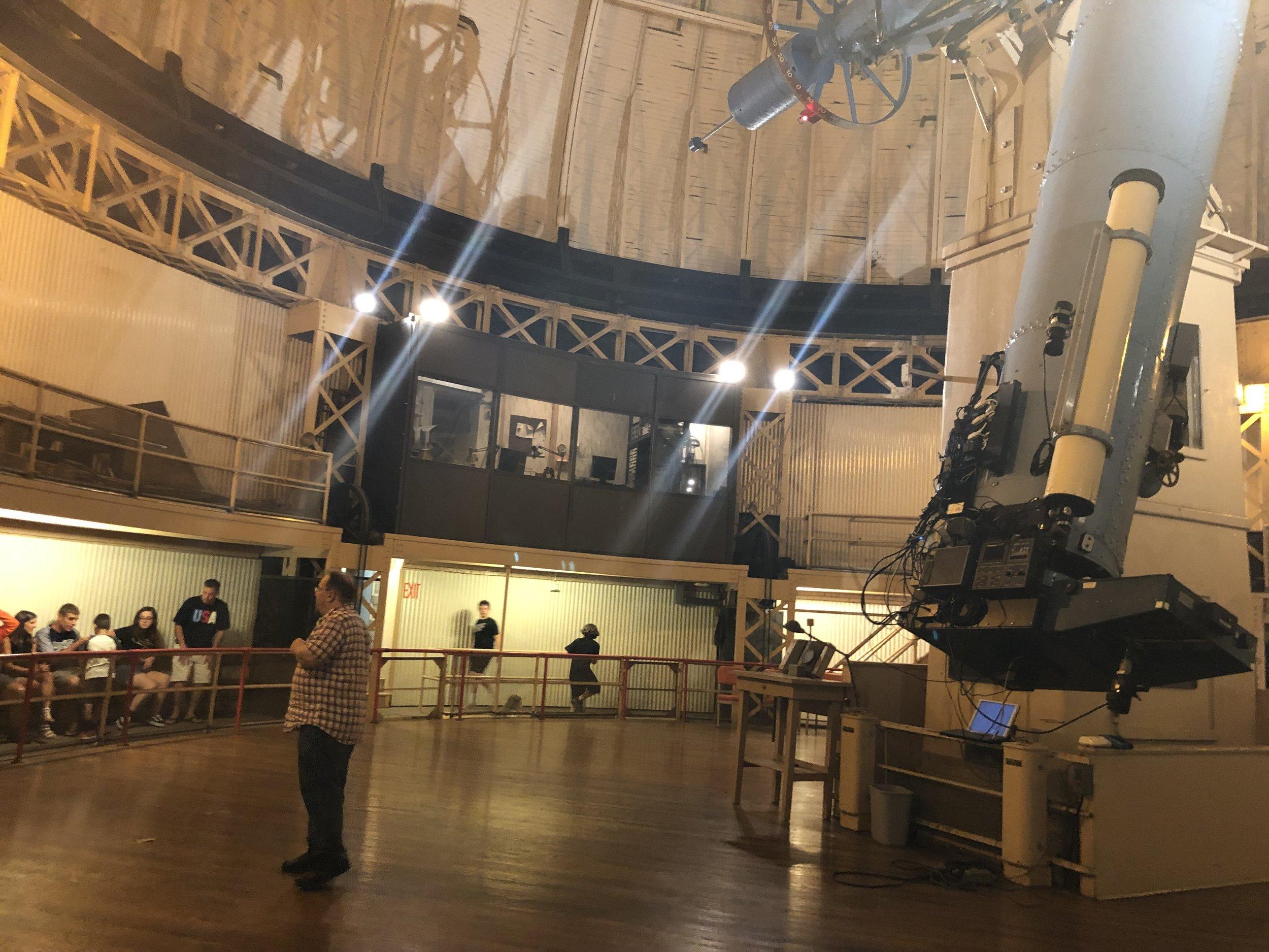 "The 30"" Thaw Telescope"
