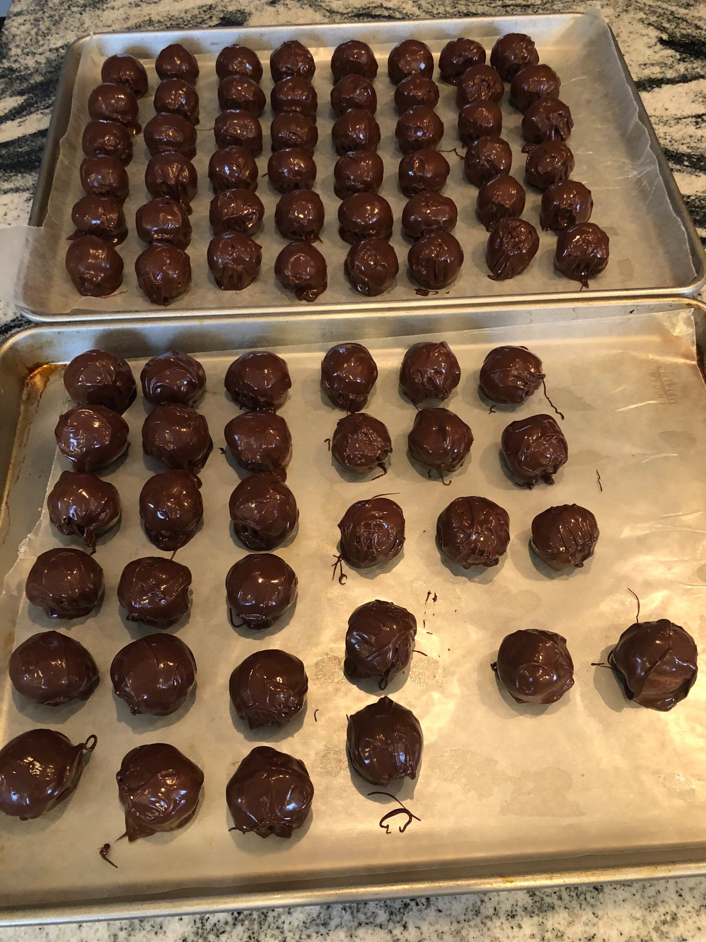 Everyone's favorite - Graham Cracker Delights, aka Peanut Butter Balls!